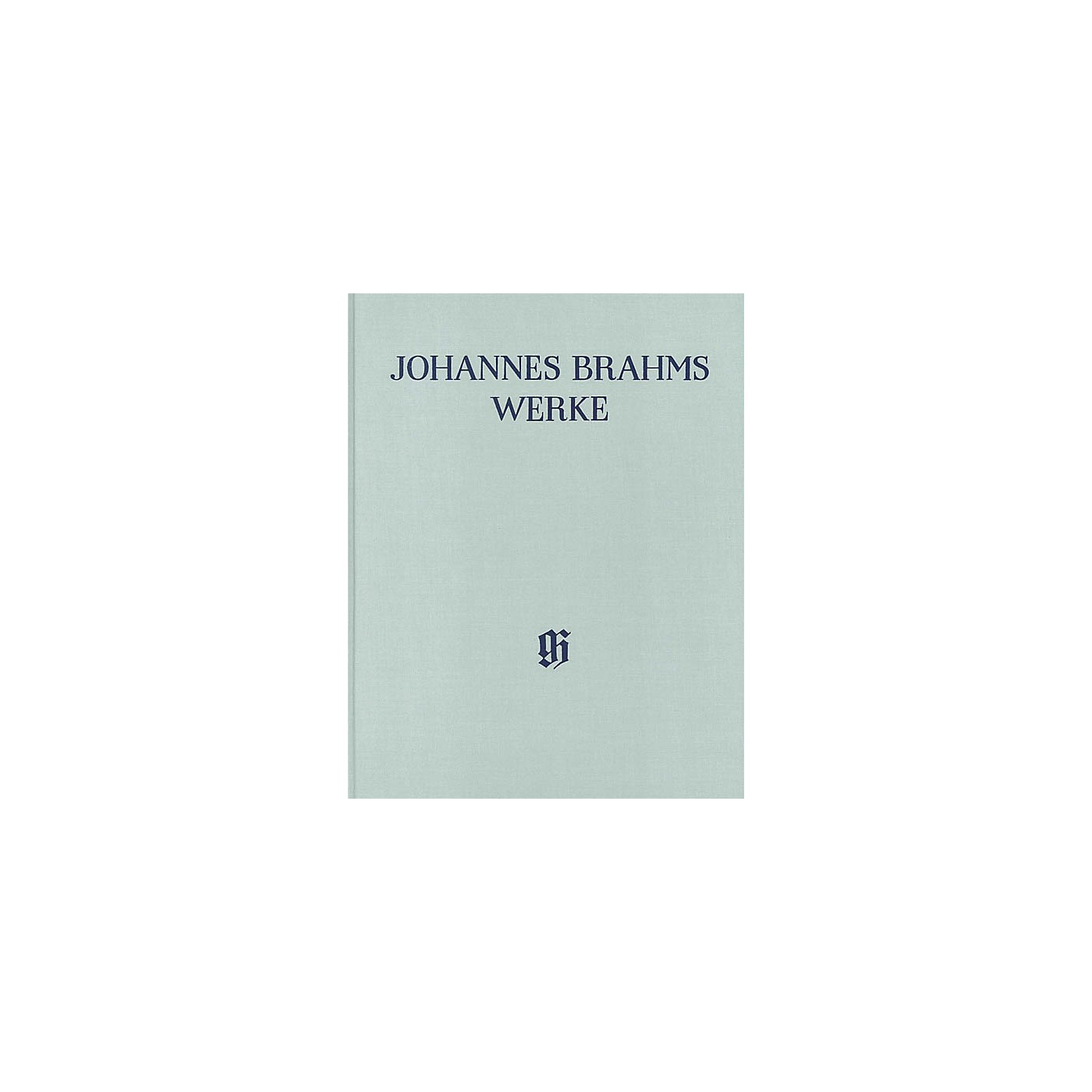 G. Henle Verlag Serenades and Ouvertures - Arrangements for Piano 4-Hands Henle Complete Hardcover by Brahms thumbnail