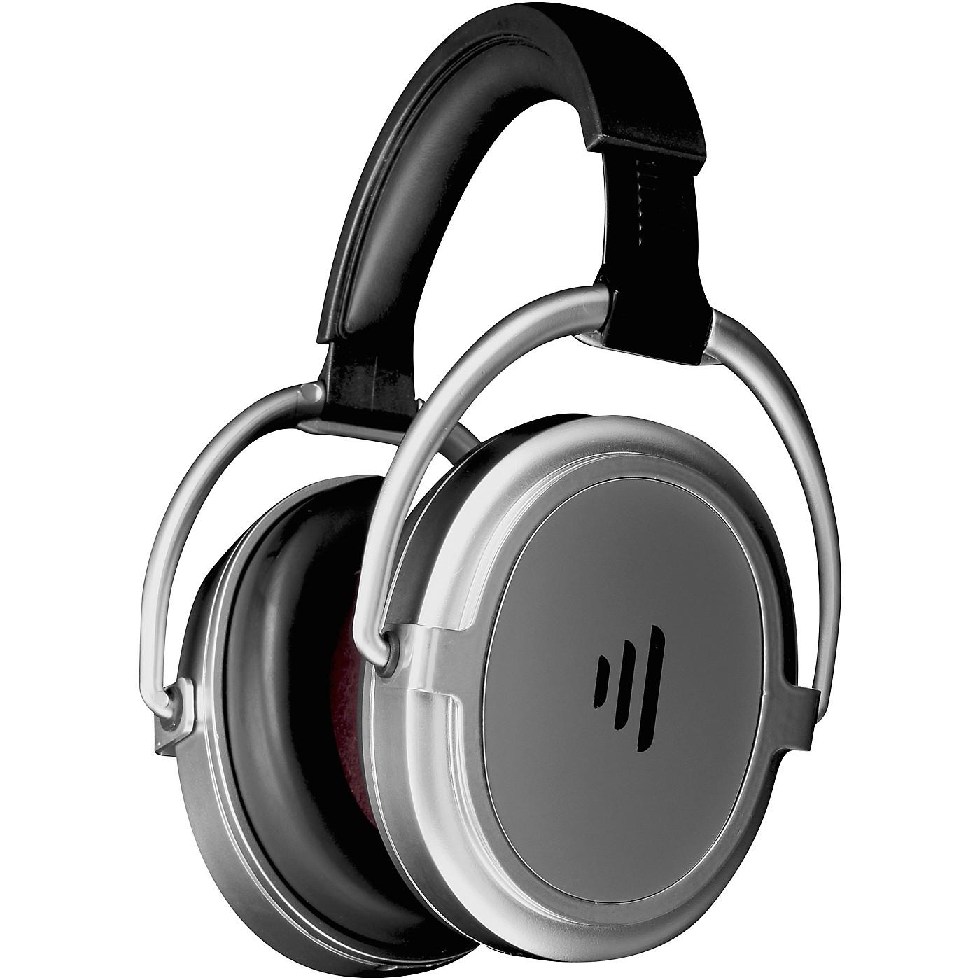 Direct Sound Serenity Plus+ Rechargable Luxury Travel Headphone Satin in Chrome Finish thumbnail