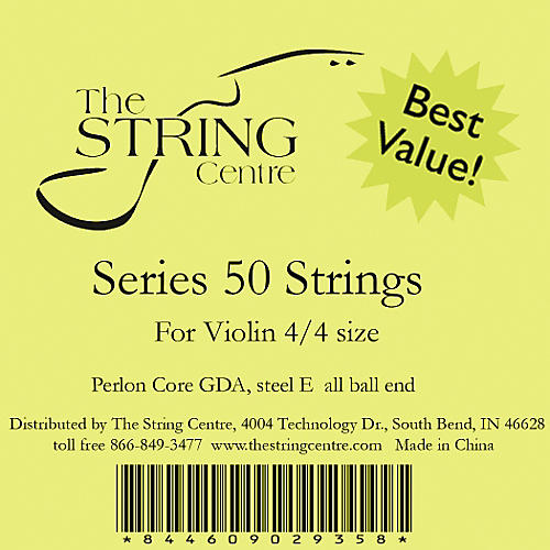 The String Centre Series 50 Violin string set thumbnail