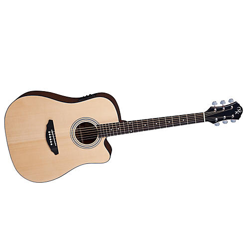 Michael Kelly Series 52 Dreadnaught Cutaway Acoustic-Electric Guitar thumbnail