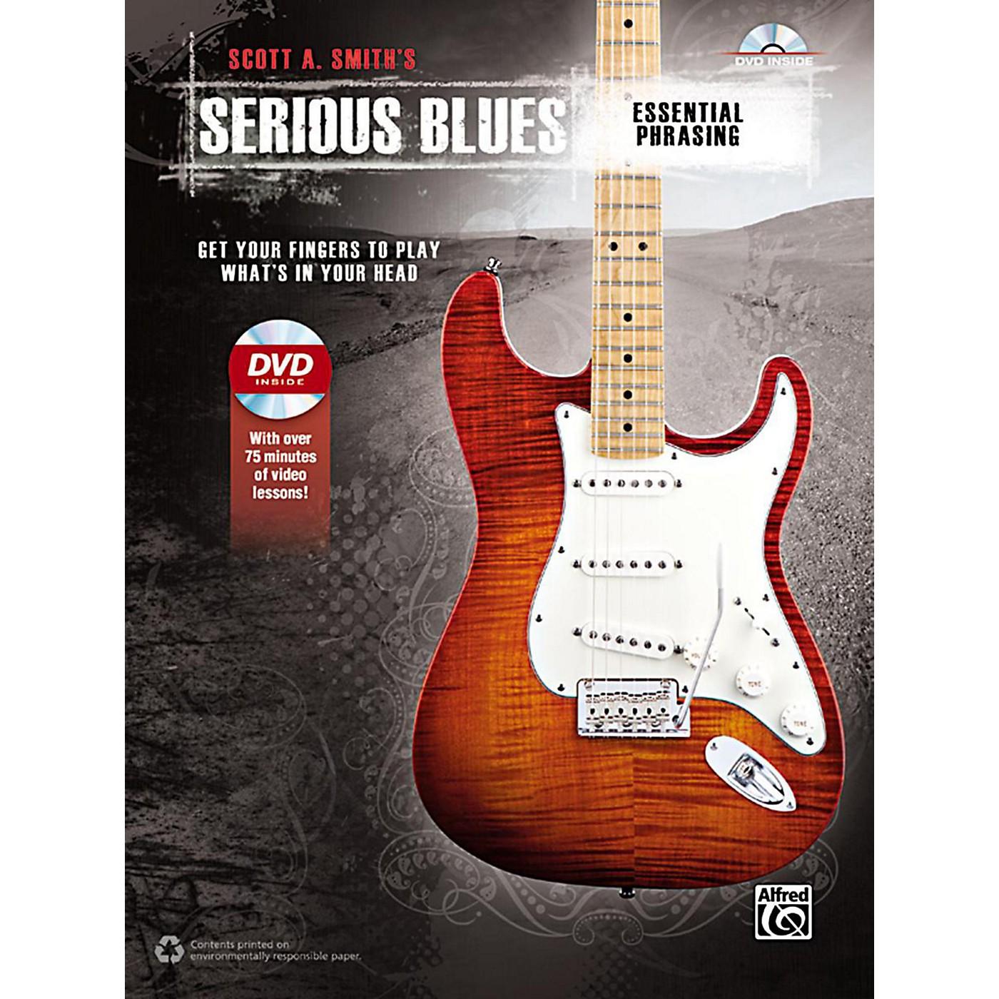 Alfred Serious Blues Essential Phrasing Book & DVD thumbnail