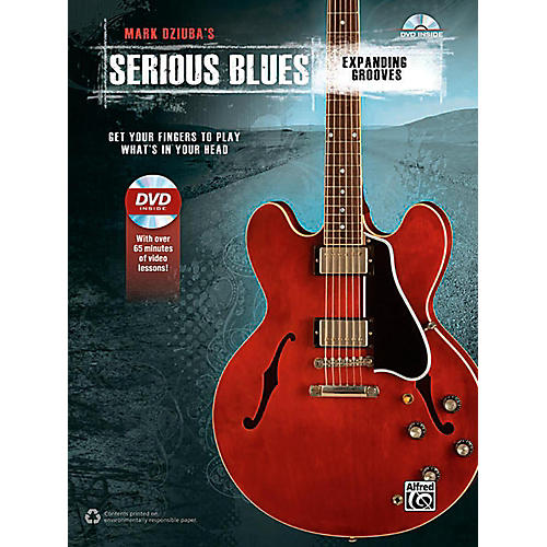 Alfred Serious Blues Expanding Grooves Book & DVD thumbnail