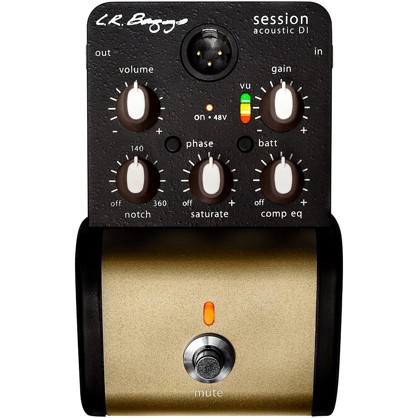 LR Baggs Session DI Acoustic Guitar Direct Box and Preamp thumbnail