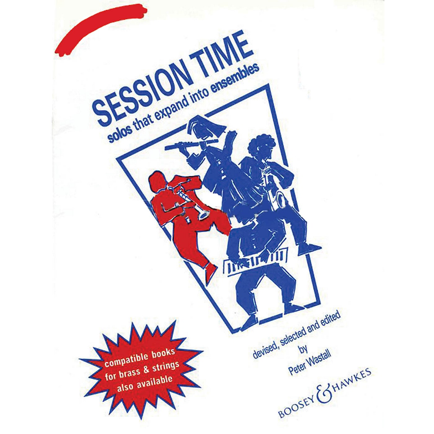 Boosey and Hawkes Session Time (Clarinet) Concert Band Composed by Peter Wastall thumbnail