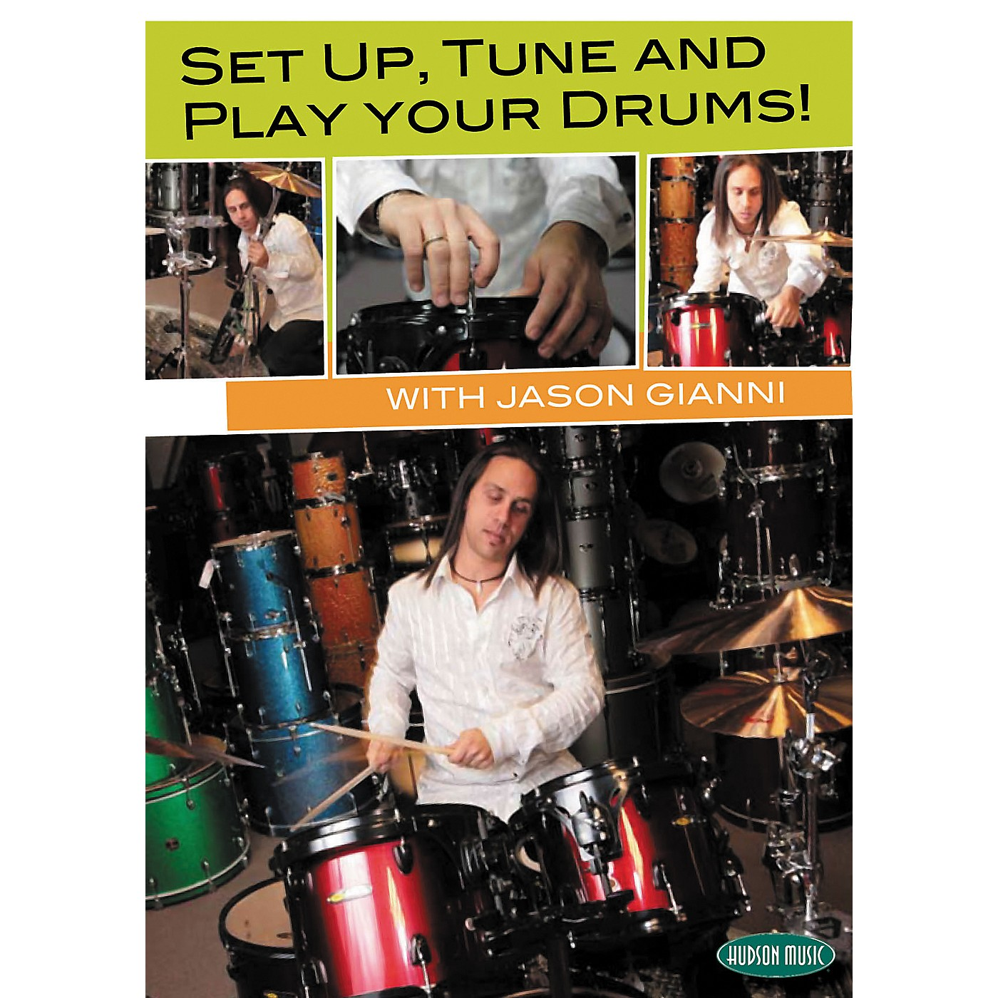 Hudson Music Set Up, Tune and Play Your Drums with Jason Gianni DVD thumbnail