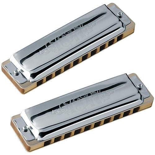 SEYDEL Set of 5 - Blues 1847 Harmonicas CLASSIC and Softcase thumbnail