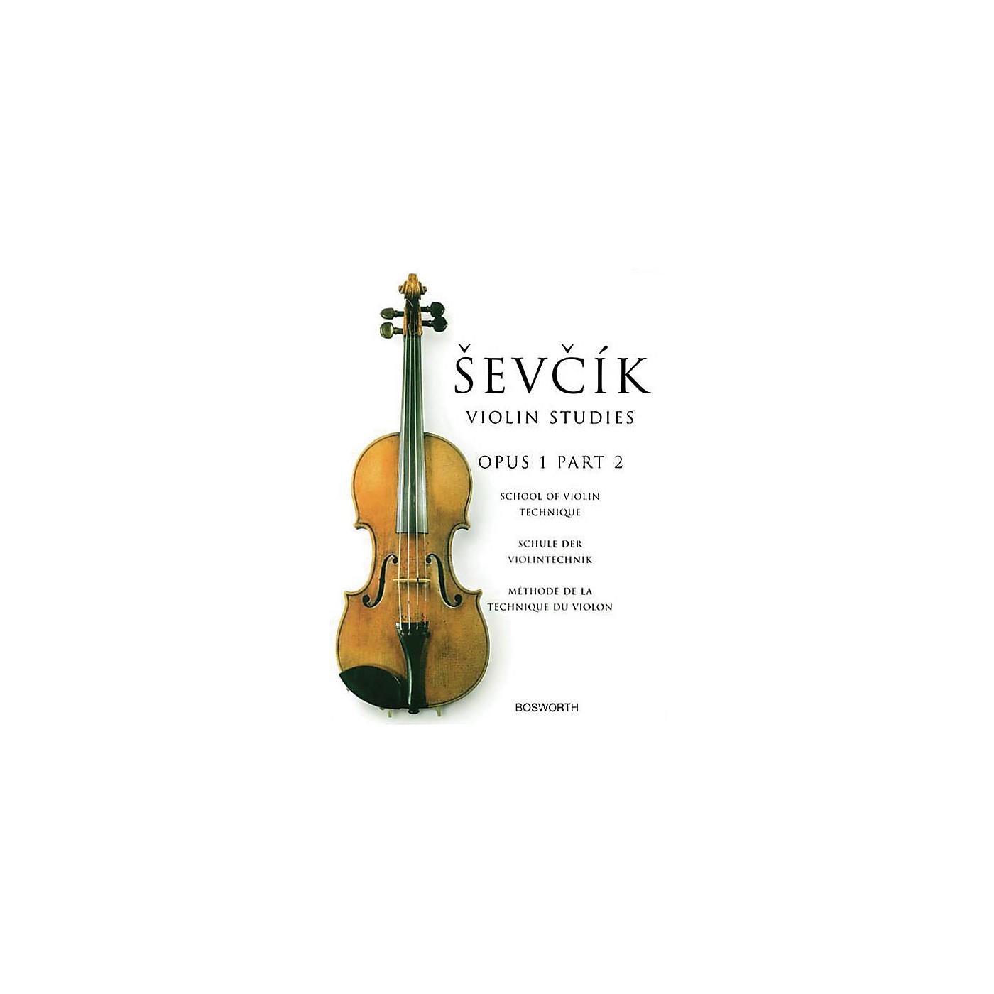 Bosworth Sevcik Violin Studies - Opus 1, Part 2 Music Sales America Series Written by Otakar Sevcik thumbnail