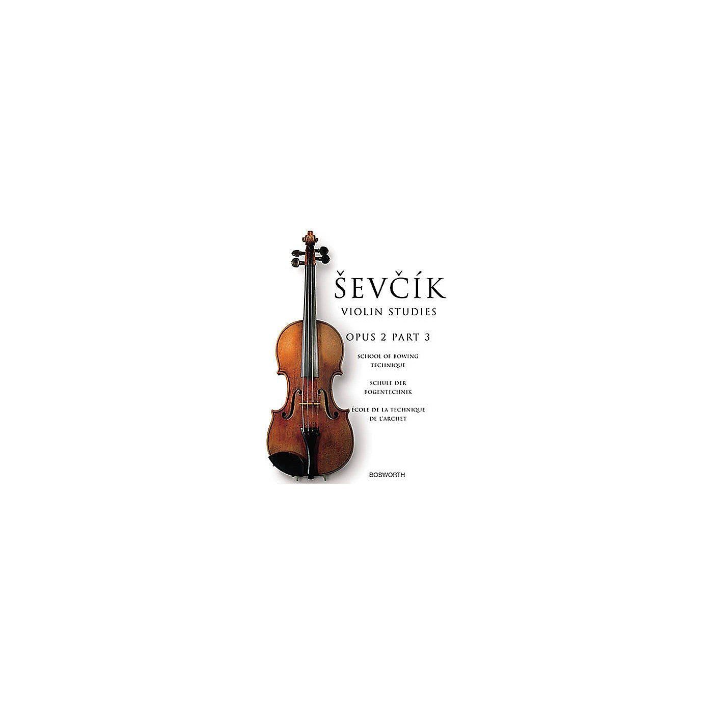 Bosworth Sevcik Violin Studies - Opus 2, Part 3 Music Sales America Series Written by Otakar Sevcik thumbnail