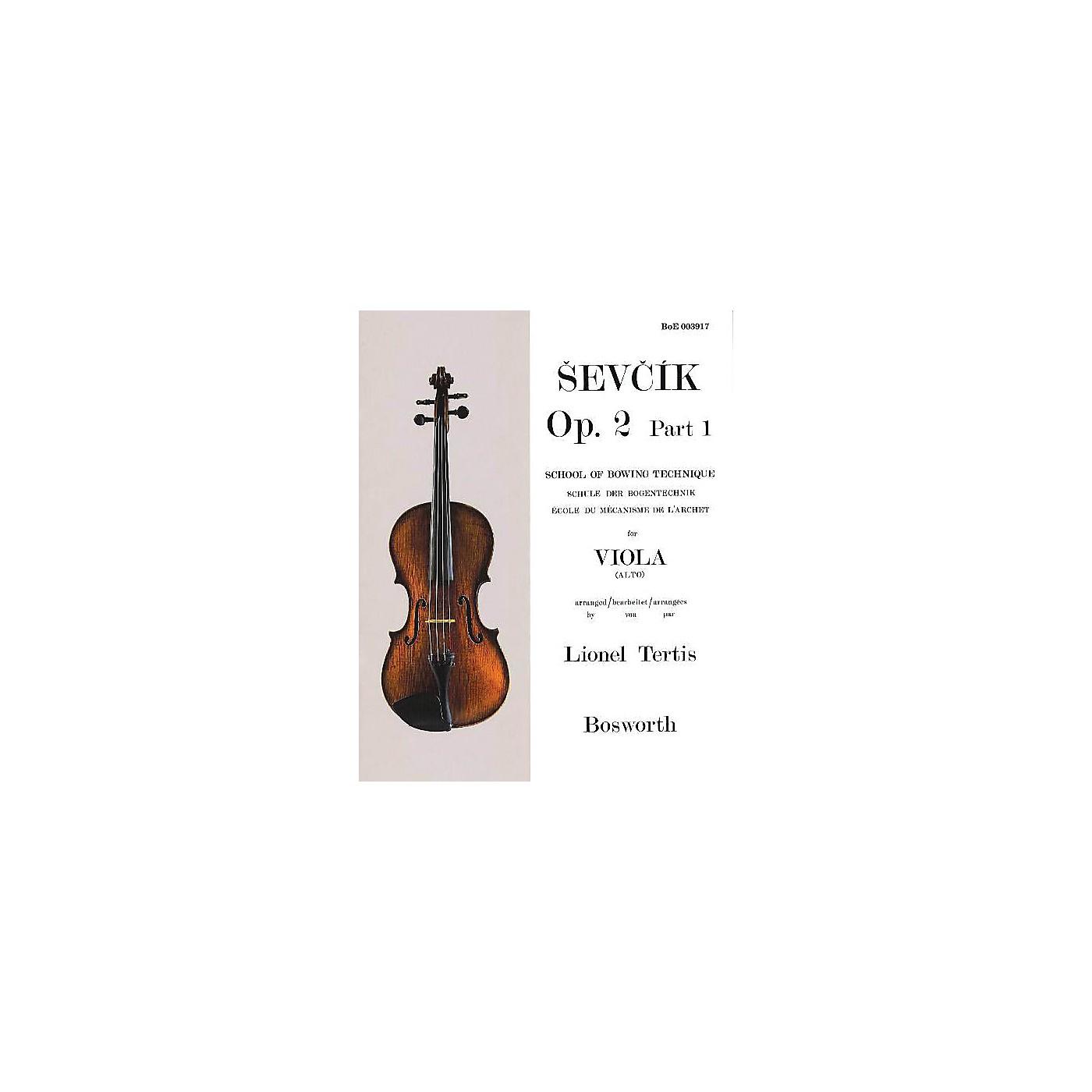 Bosworth Sevcik for Viola - Opus 2, Part 1 Music Sales America Series Written by Otakar Sevcik thumbnail