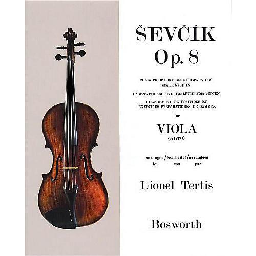 Bosworth Sevcik for Viola - Opus 8 Music Sales America Series Written by Otakar Sevcik thumbnail