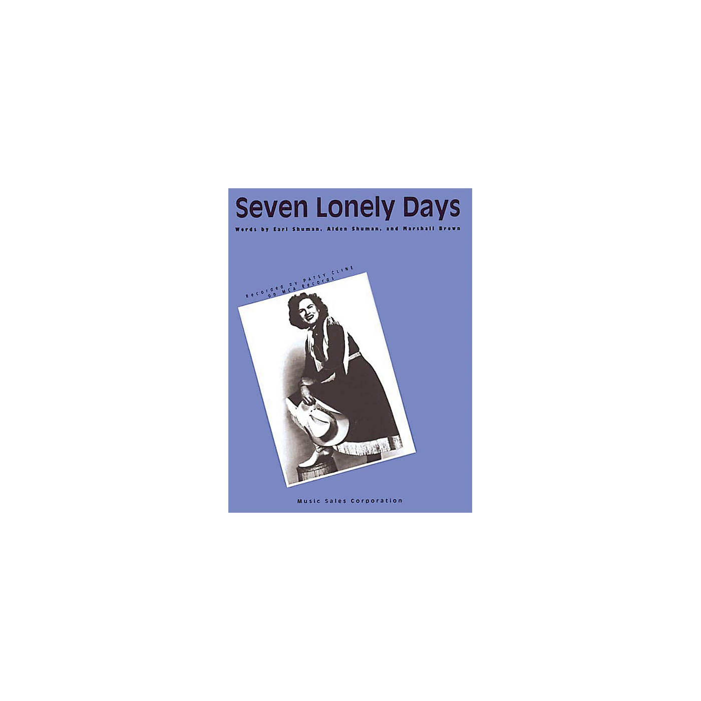 Music Sales Seven Lonely Days Music Sales America Series Performed by Patsy Cline thumbnail