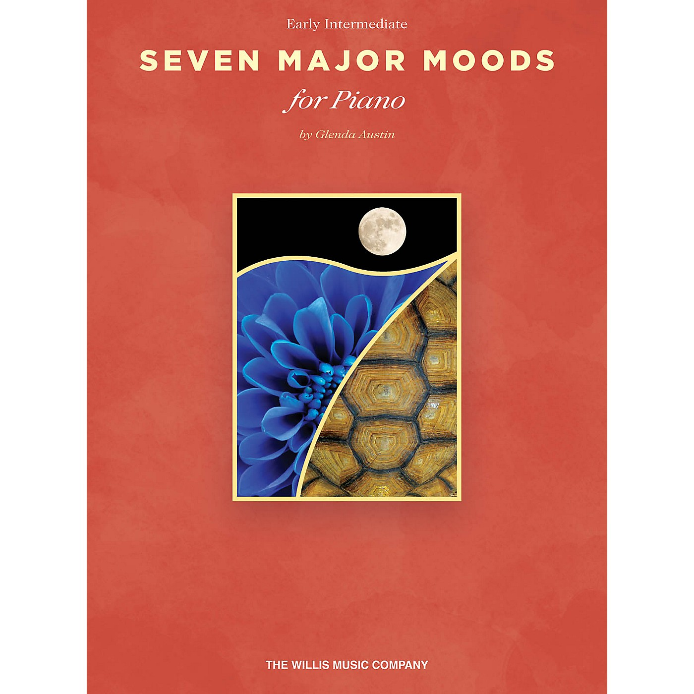 Willis Music Seven Major Moods (Early Inter Level) Willis Series Book by Glenda Austin thumbnail