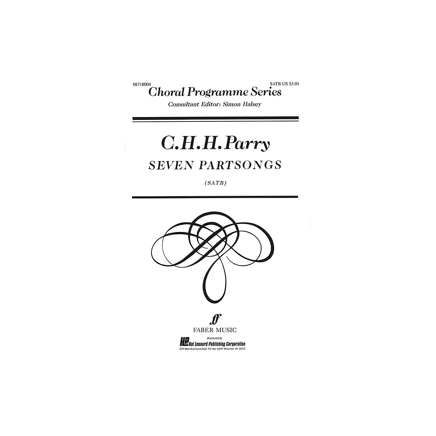 Faber Music LTD Seven Partsongs (Collection) Faber Program Series Series Composed by C.H.H. Parry Edited by Simon Halsey thumbnail