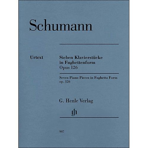 G. Henle Verlag Seven Piano Pieces In Fughetta form Op. 126 By Schumann / Herttrich thumbnail