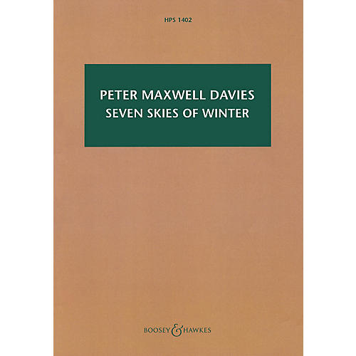 Boosey and Hawkes Seven Skies of Winter Boosey & Hawkes Scores/Books Series Softcover Composed by Peter Maxwell Davies thumbnail