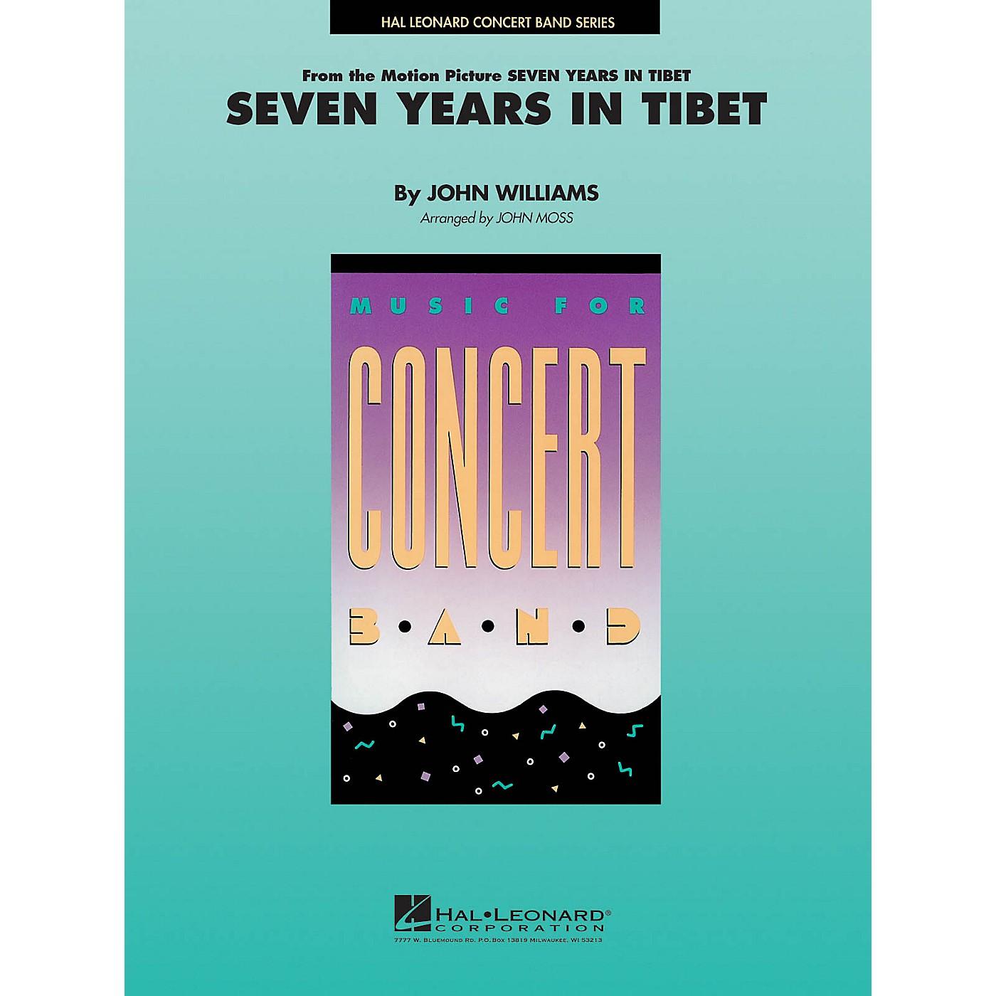 Hal Leonard Seven Years in Tibet Concert Band Level 4-5 Arranged by John Moss thumbnail