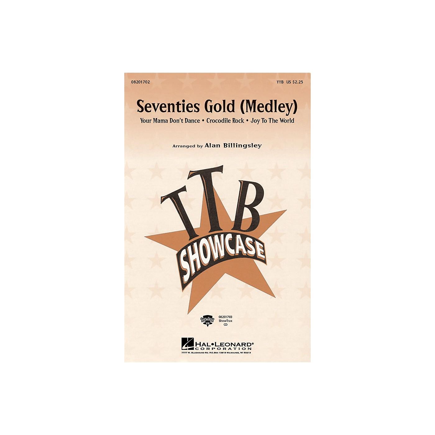 Hal Leonard Seventies Gold (Medley) ShowTrax CD Arranged by Alan Billingsley thumbnail