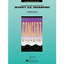 Hal Leonard Seventy-Six Trombones Concert Band Level 4 Arranged by Ted Ricketts