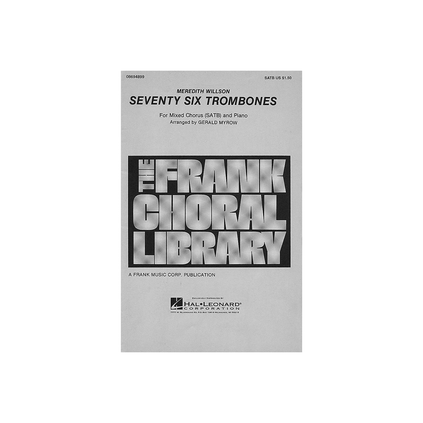 Hal Leonard Seventy Six Trombones SATB arranged by Gerald Myrow thumbnail