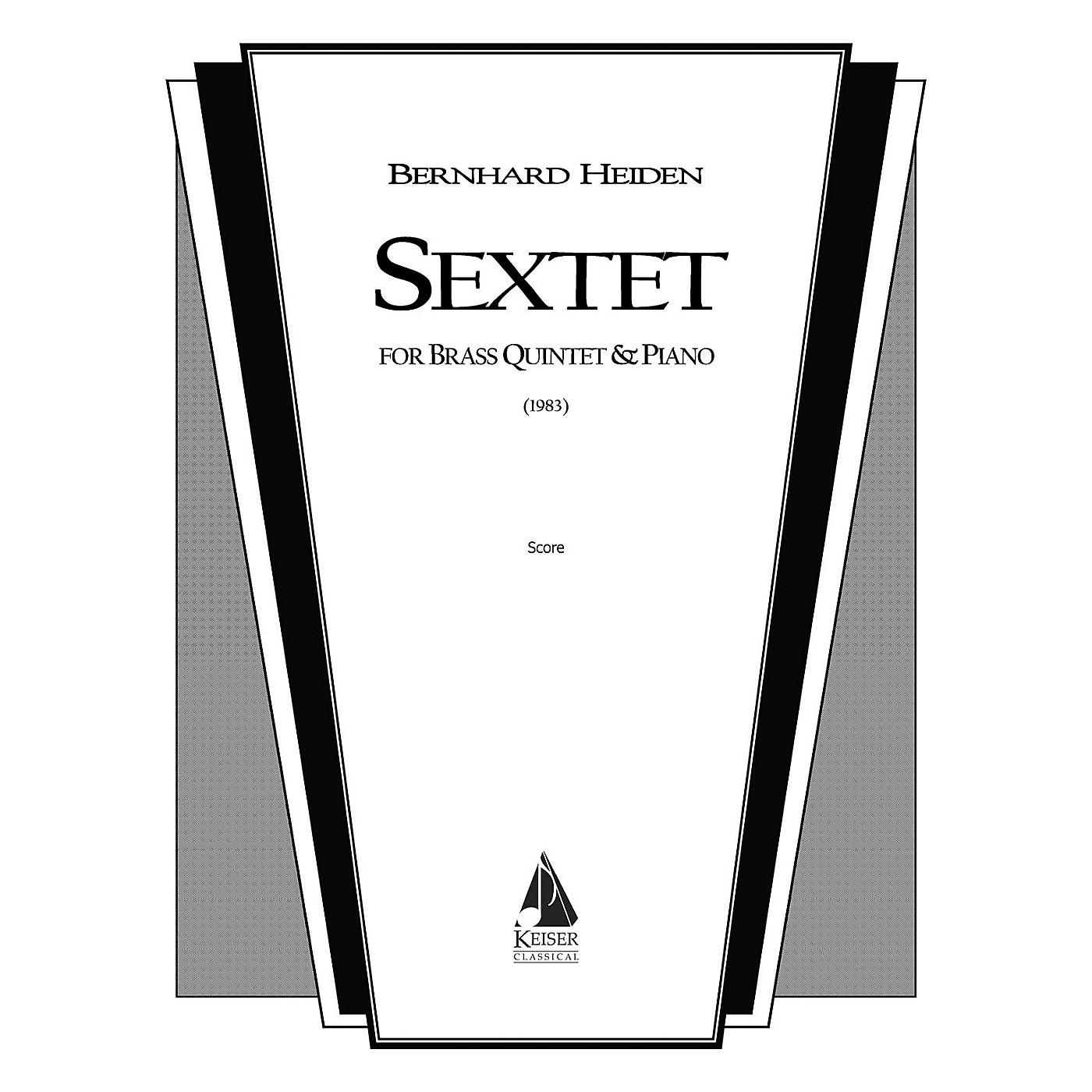 Lauren Keiser Music Publishing Sextet (Brass Ensemble) LKM Music Series by Bernhard Heiden thumbnail