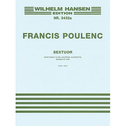 Music Sales Sextet Music Sales America Series by Francis Poulenc thumbnail