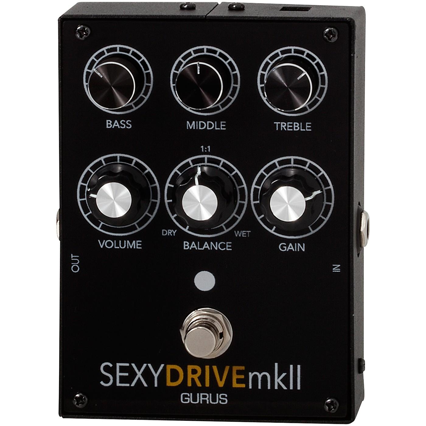 Gurus Sexy Drive MK II Overdrive Effects Pedal thumbnail