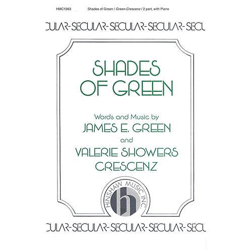 Hinshaw Music Shades of Green SA composed by James Green thumbnail