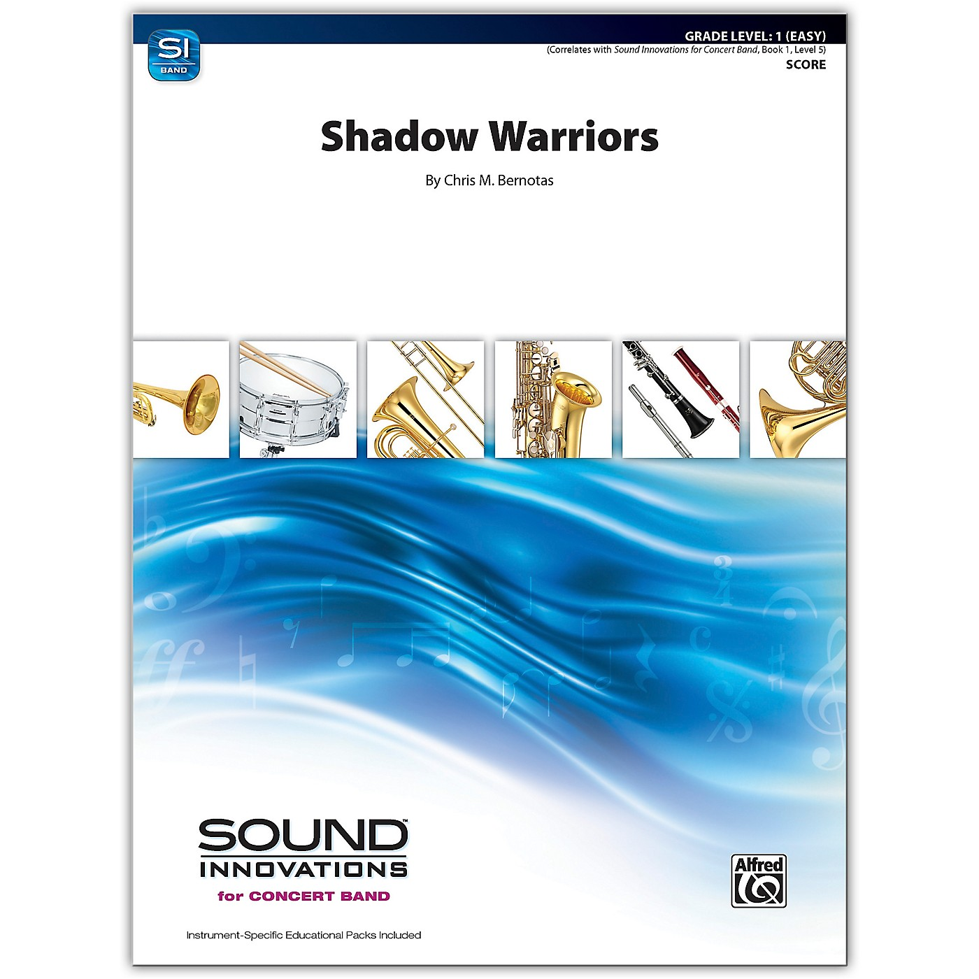 Alfred Shadow Warriors Conductor Score 1 (Very Easy) thumbnail