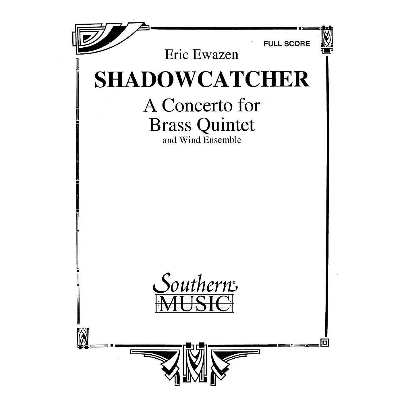 Southern Shadowcatcher (Brass Quintet and Wind Ensemble Oversized Full Score) Concert Band Level 4 by Eric Ewazen thumbnail