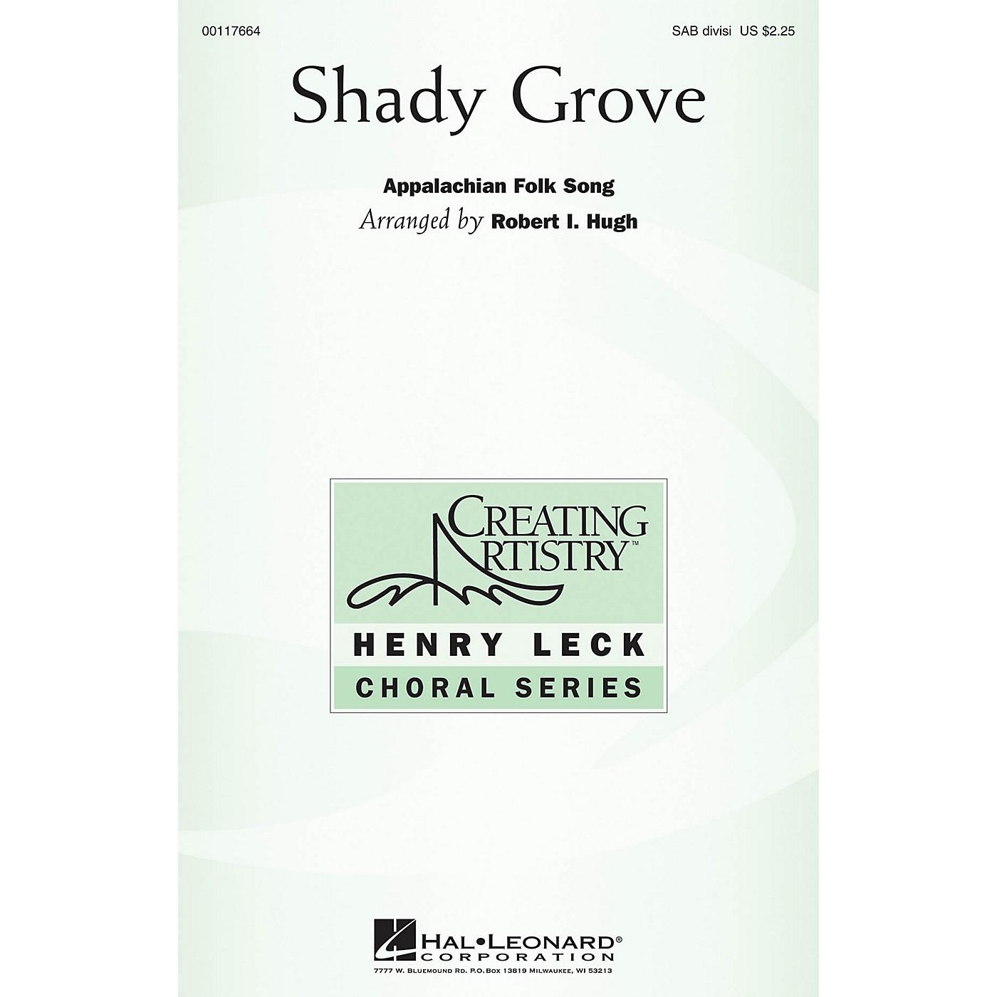Hal Leonard Shady Grove SAB arranged by Robert I. Hugh thumbnail