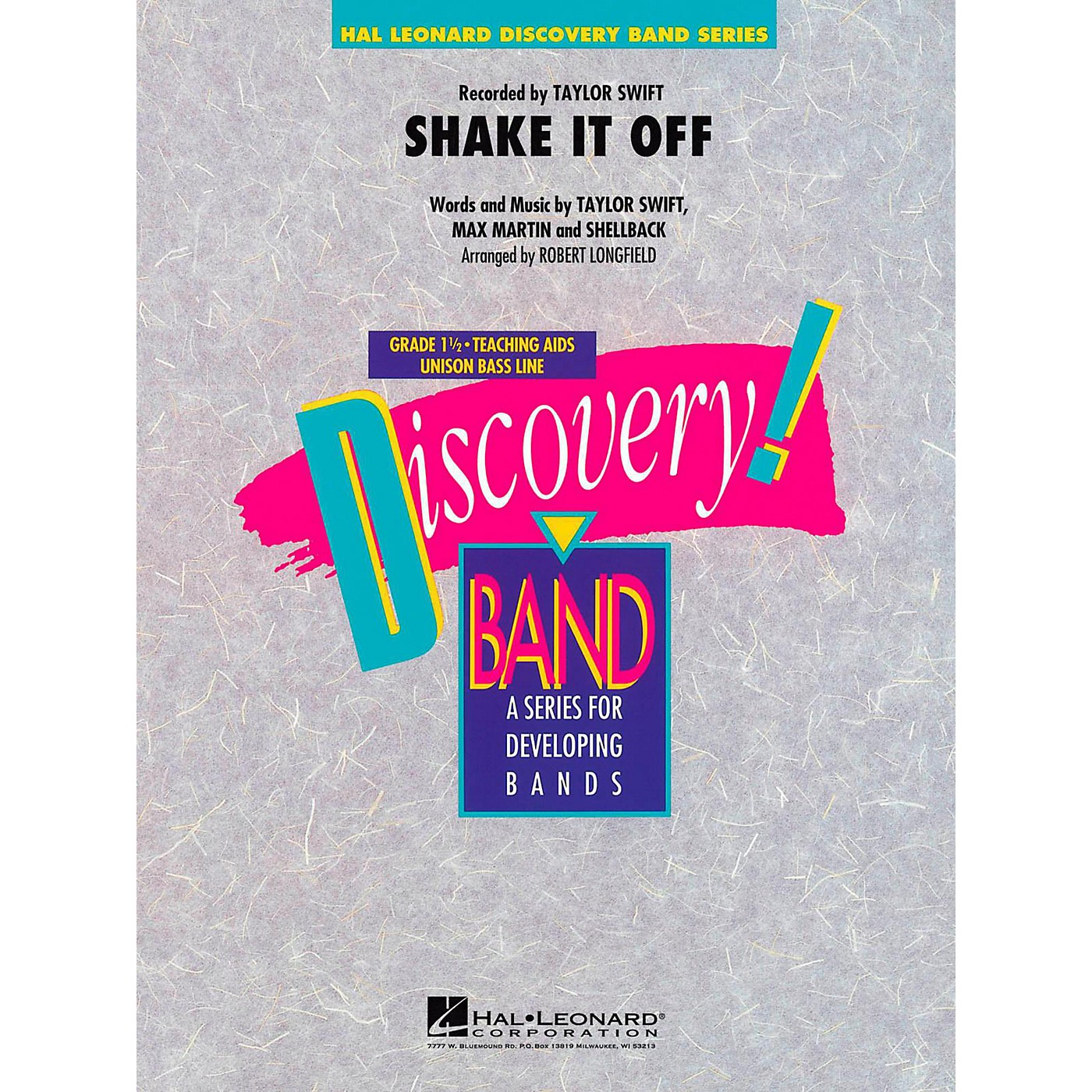 Hal Leonard Shake It Off Concert Band Level 1.5 thumbnail