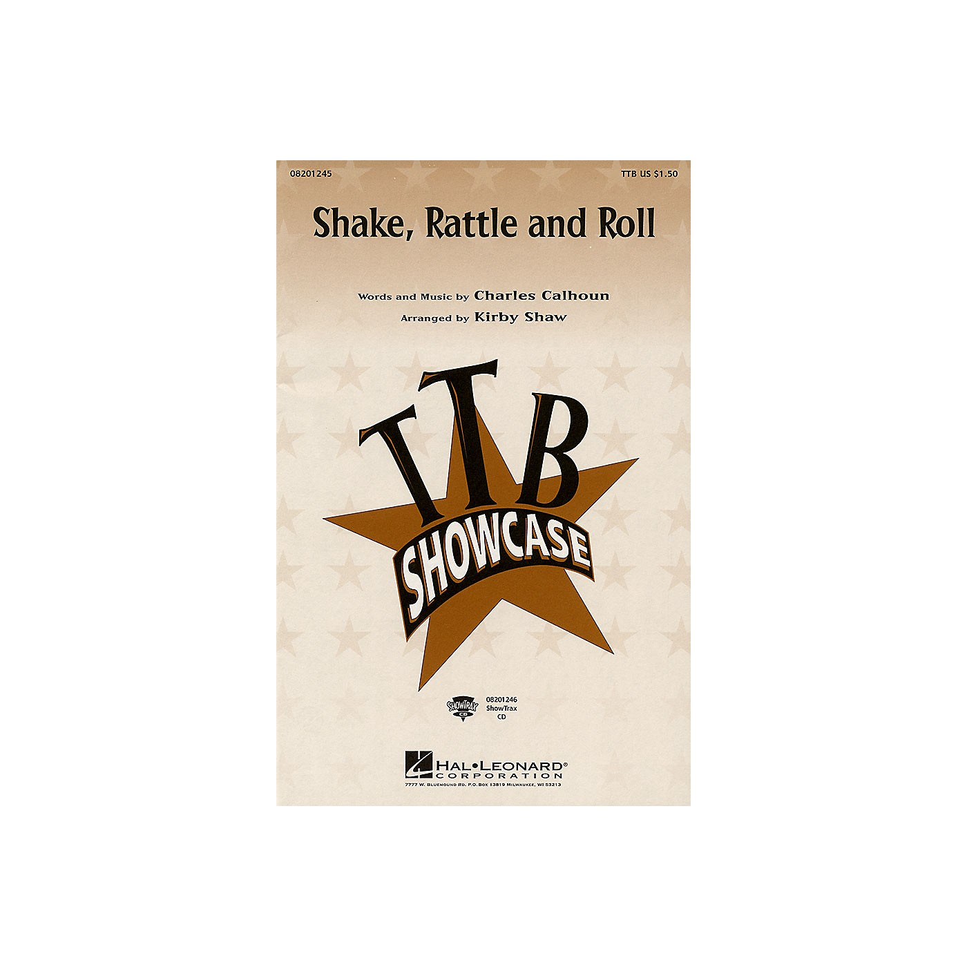 Hal Leonard Shake, Rattle and Roll ShowTrax CD Arranged by Kirby Shaw thumbnail