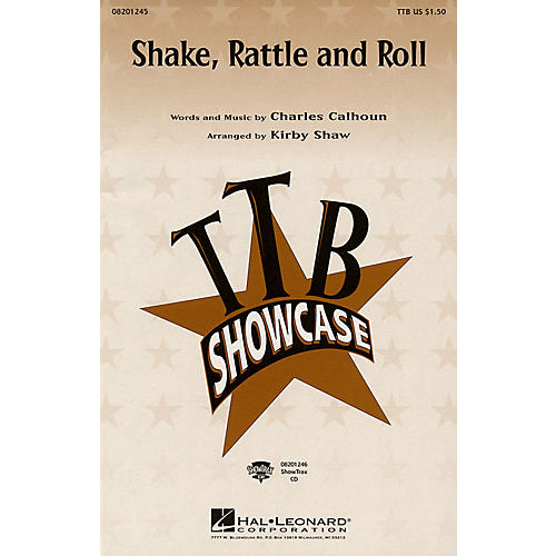 Hal Leonard Shake, Rattle and Roll TTB arranged by Kirby Shaw thumbnail