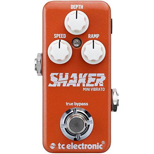 TC Electronic Shaker Mini Vibrato Guitar Effects Pedal thumbnail