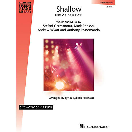 Hal Leonard Shallow (from A Star Is Born) Showcase Solos