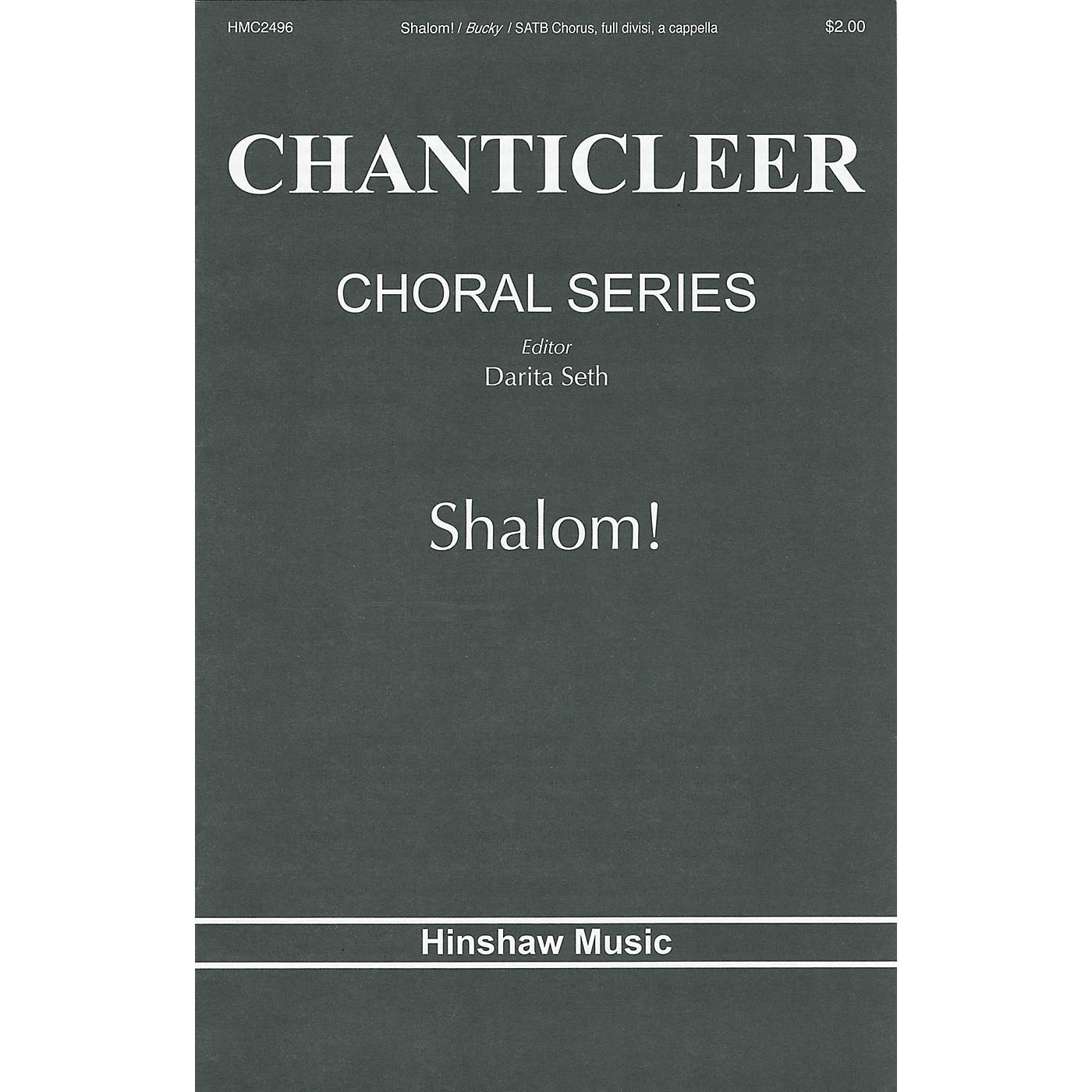 Hinshaw Music Shalom SATB DV A Cappella composed by Elio Bucky thumbnail