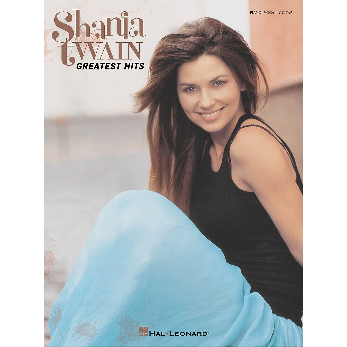 Hal Leonard Shania Twain - Greatest Hits Piano/Vocal/Guitar Songbook thumbnail