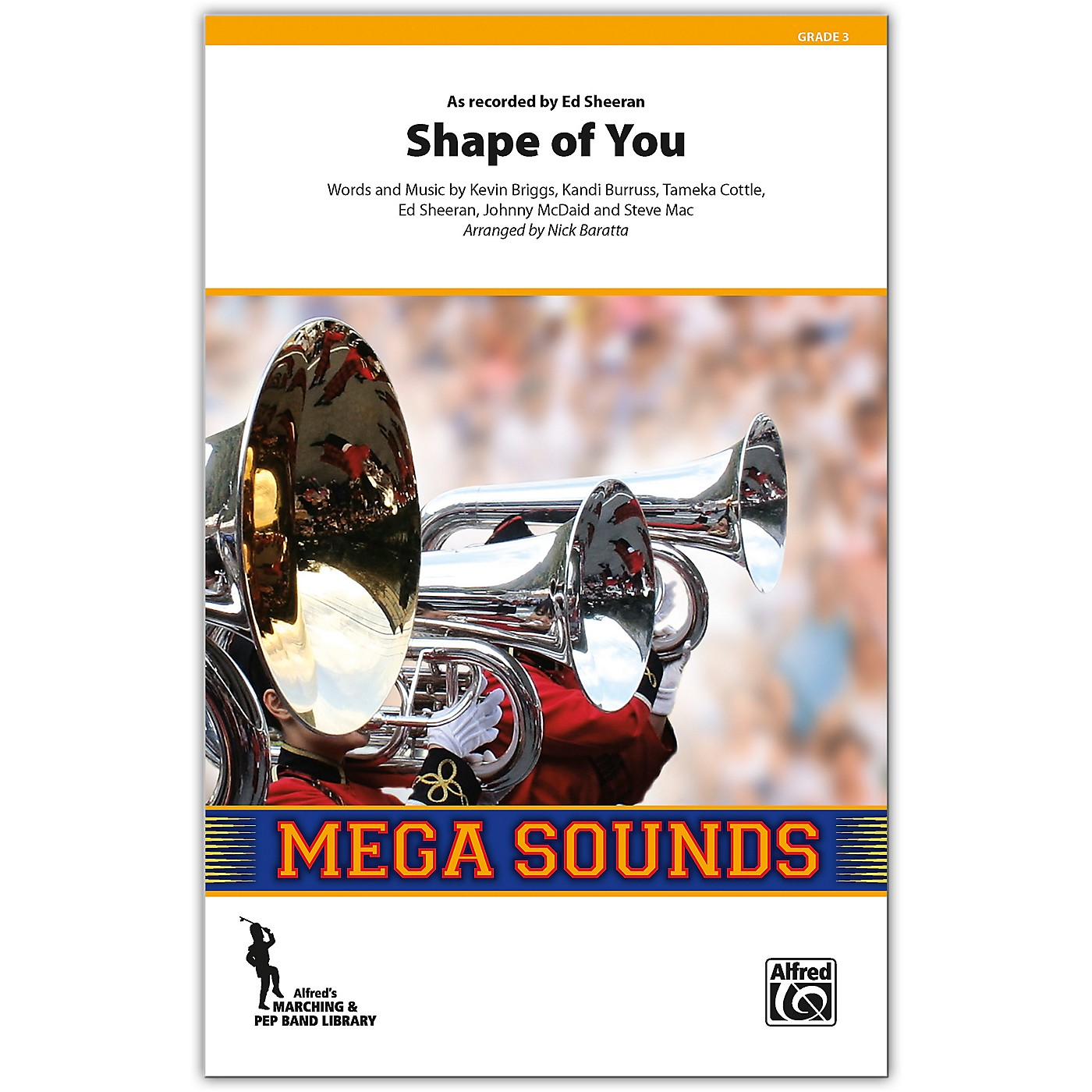 Alfred Shape of You Conductor Score 3 (Medium) thumbnail