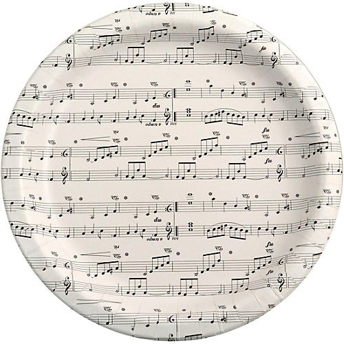 AIM Sheet Music Paper Plates thumbnail