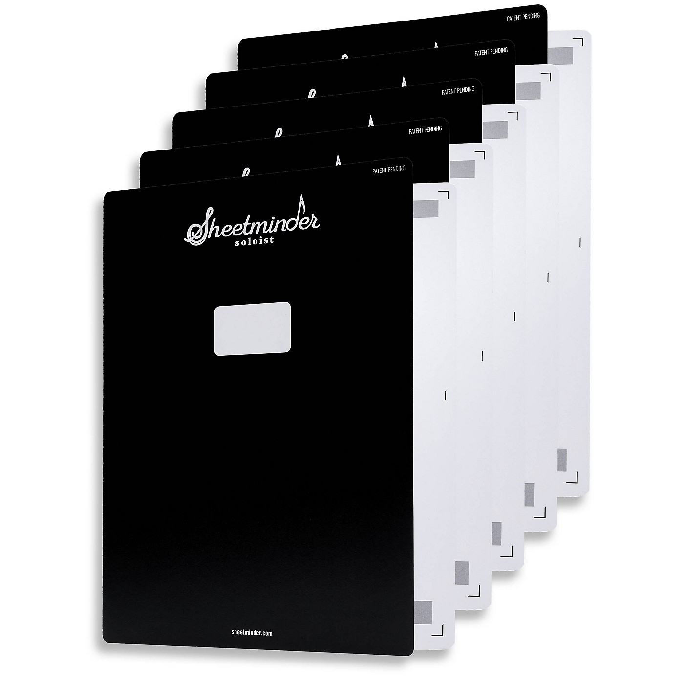 Hal Leonard Sheetminder Soloist Sheet Music Folder 5-Pack thumbnail
