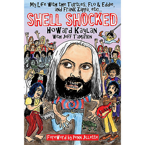 Backbeat Books Shell Shocked Book Series Softcover Written by Howard Kaylan thumbnail