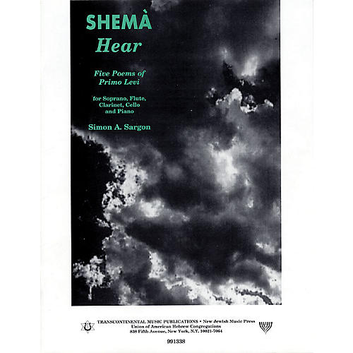 Transcontinental Music Shemà: Hear (Five Poems of Primo Levi) Transcontinental Music Folios Series thumbnail