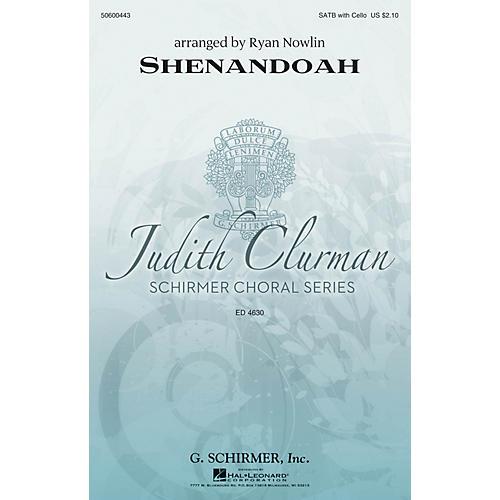 G. Schirmer Shenandoah (Judith Clurman Choral Series) SATB arranged by Ryan Nowlin thumbnail