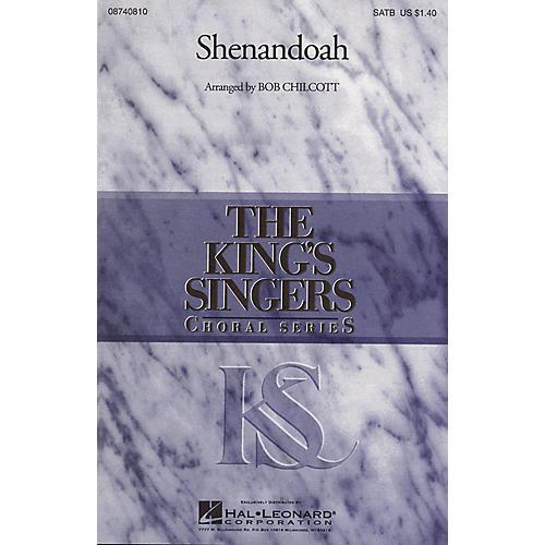 Hal Leonard Shenandoah SATB Divisi by The King's Singers arranged by Bob Chilcott thumbnail