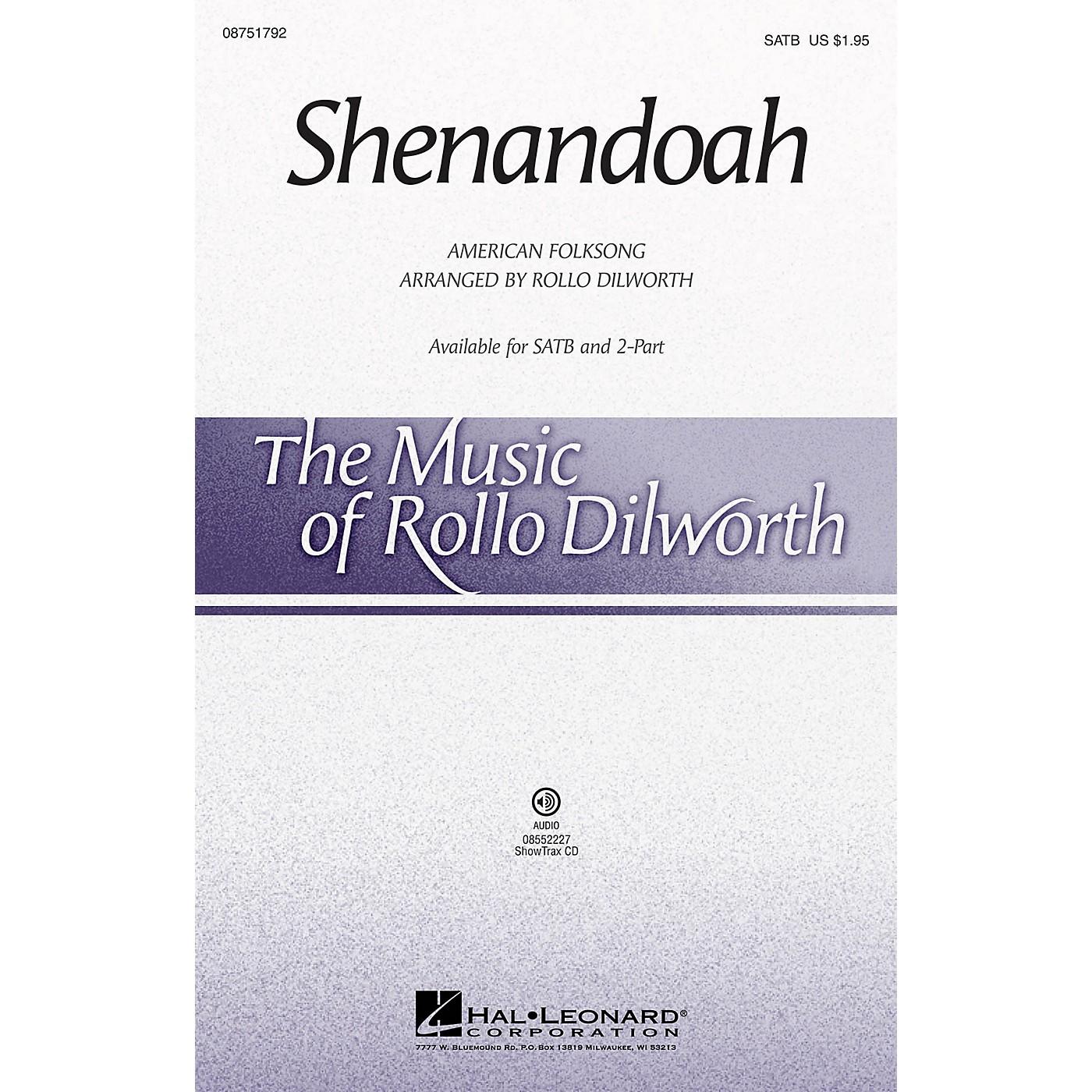 Hal Leonard Shenandoah SATB arranged by Rollo Dilworth thumbnail