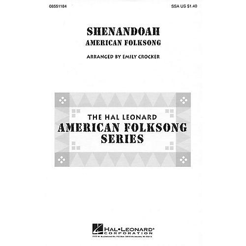 Hal Leonard Shenandoah SSA arranged by Emily Crocker thumbnail