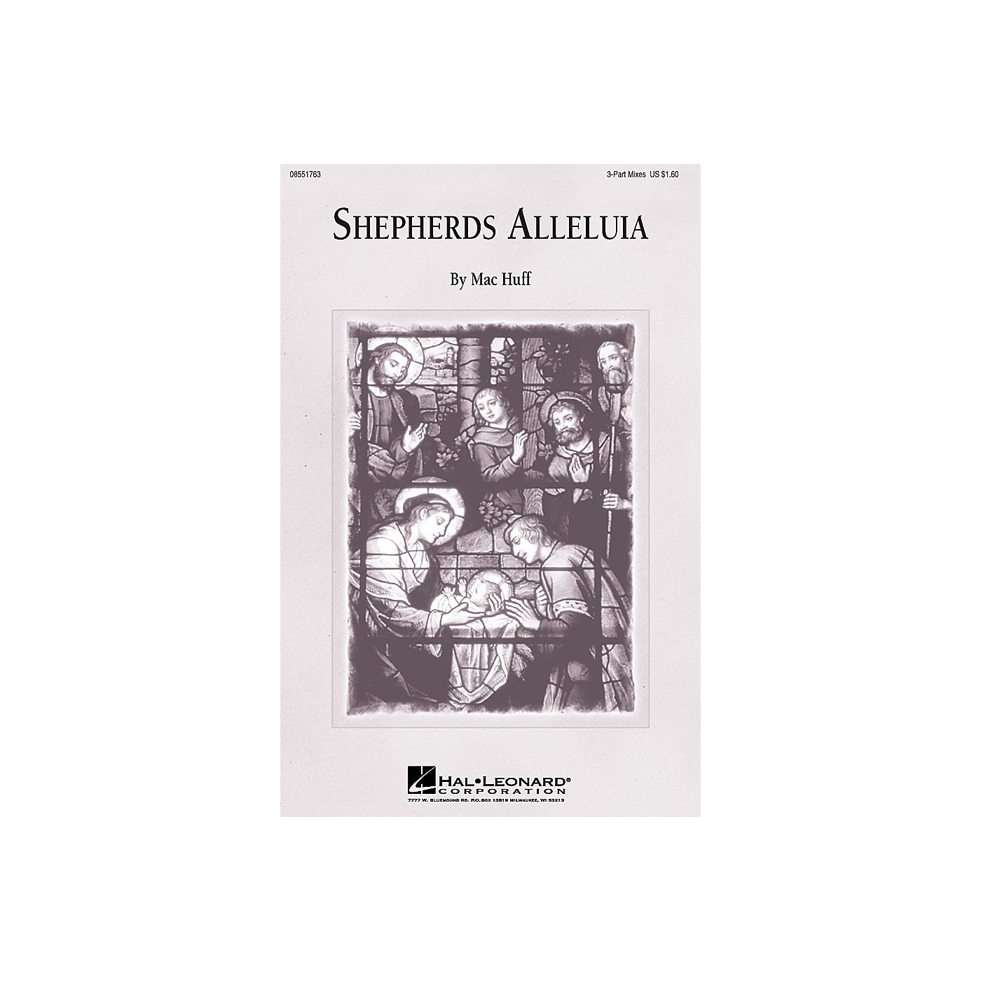 Hal Leonard Shepherd's Alleluia 3-Part Mixed composed by Mac Huff thumbnail