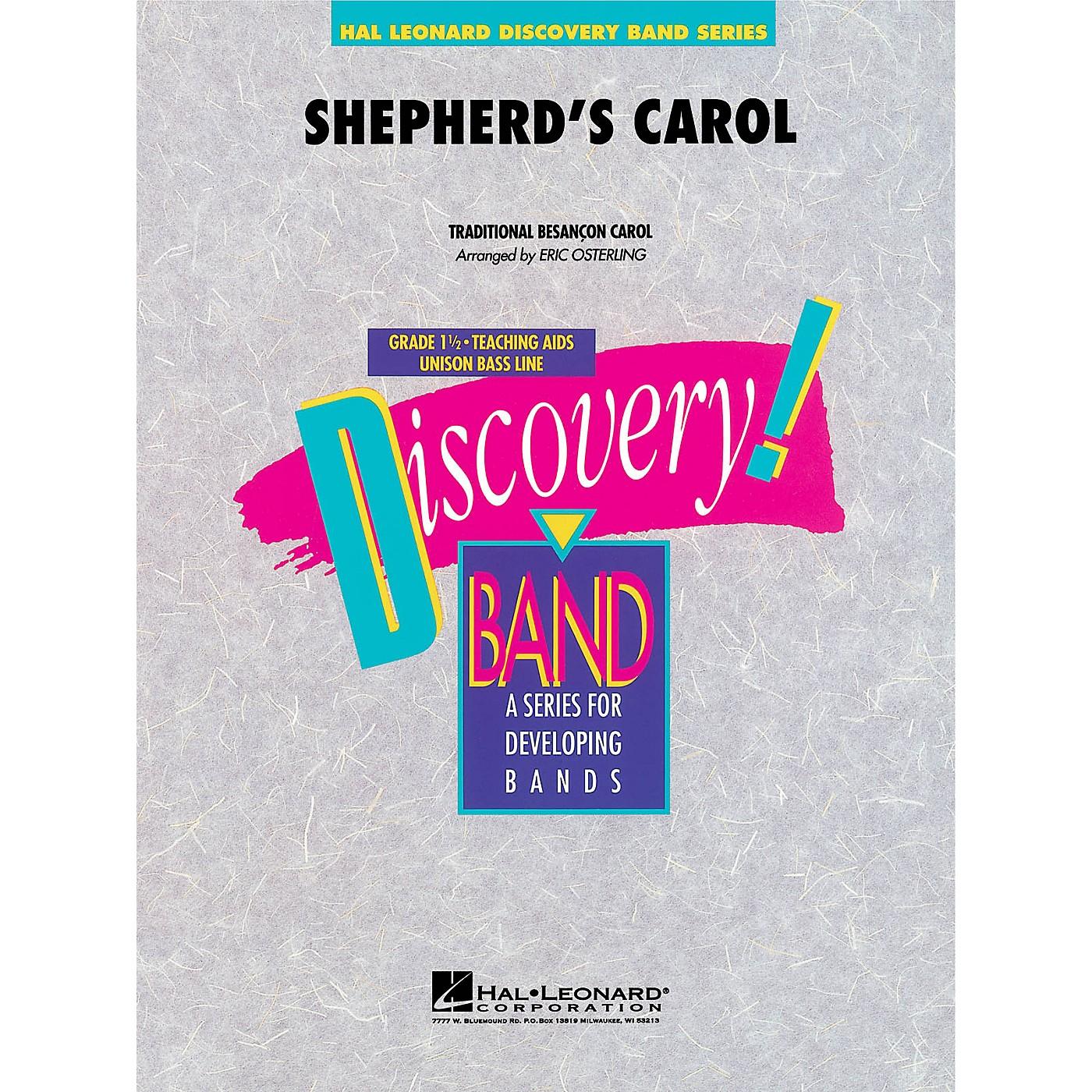 Hal Leonard Shepherd's Carol Concert Band Level 1.5 Arranged by Eric Osterling thumbnail