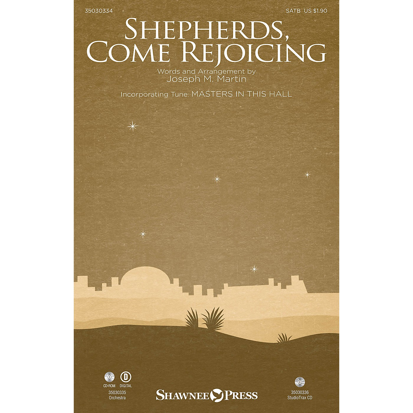 Shawnee Press Shepherds, Come Rejoicing Studiotrax CD Composed by Joseph M. Martin thumbnail