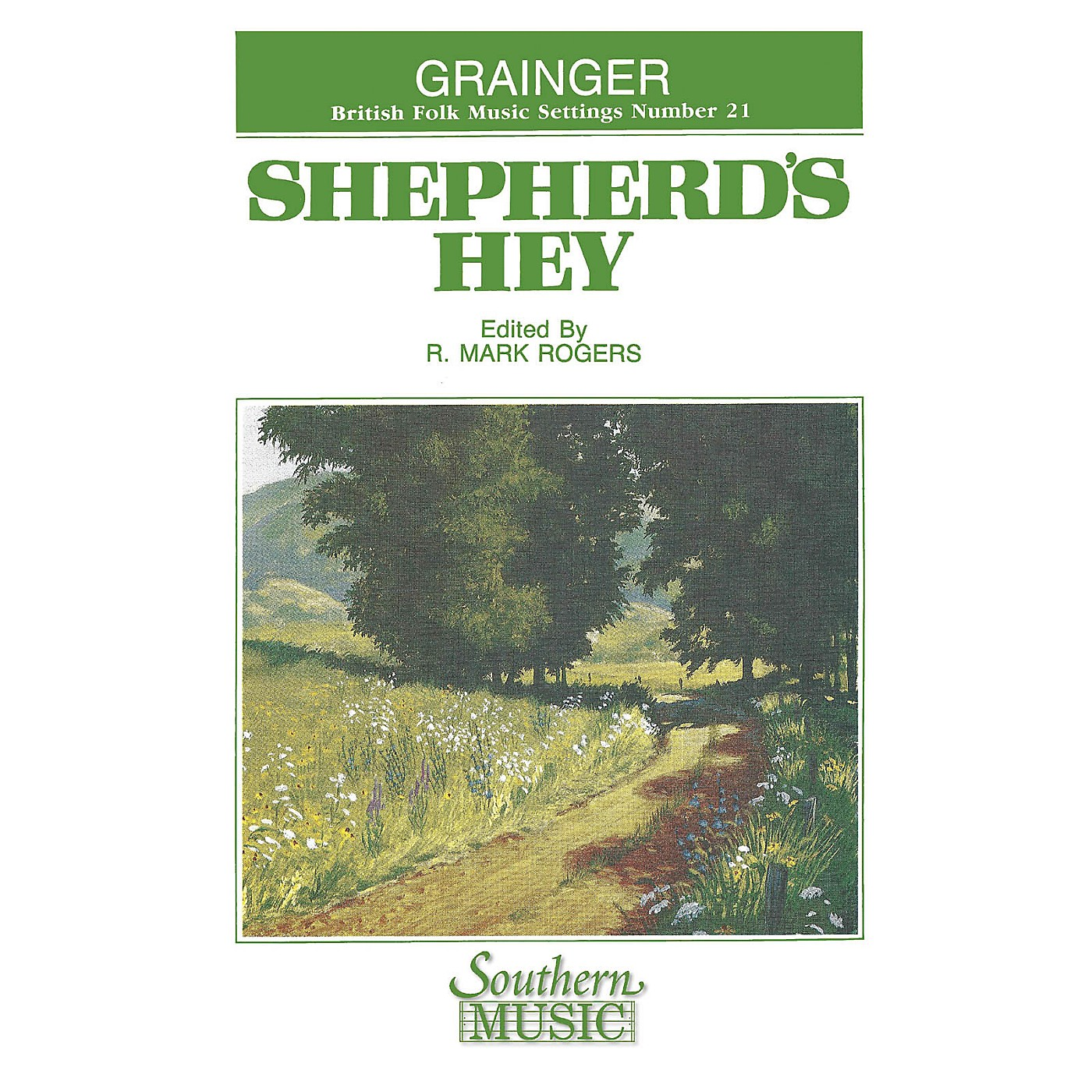 Southern Shepherd's Hey Concert Band Level 4 Composed by Percy Aldridge Grainger Arranged by R. Mark Rogers thumbnail